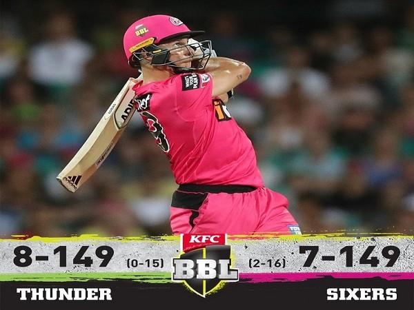 Sydney Sixers defeat Sydney Thunders (Image: BBL's twitter)