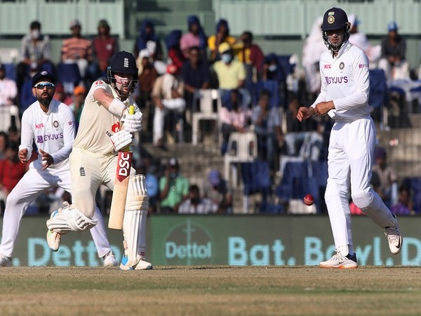 Shubman Gill in action during the second Test (Image: BCCI's Twitter)