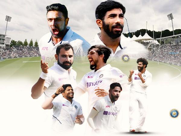 Team India bowlers (Photo/ BCCI)