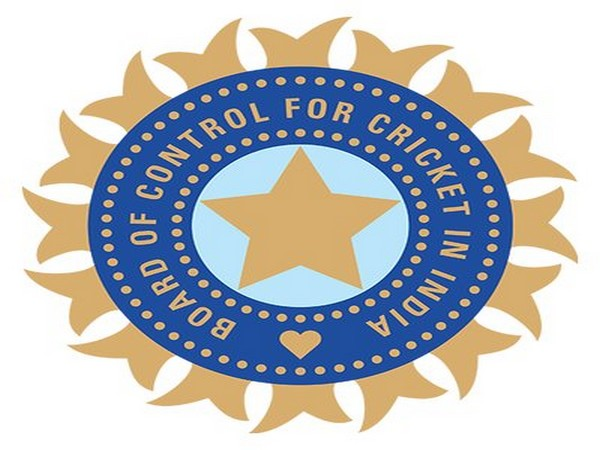 Board of Control for Cricket in India logo.