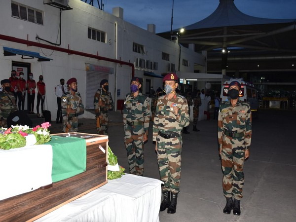 Army tribute to Naik DSV Sachin More on Friday in Pune.