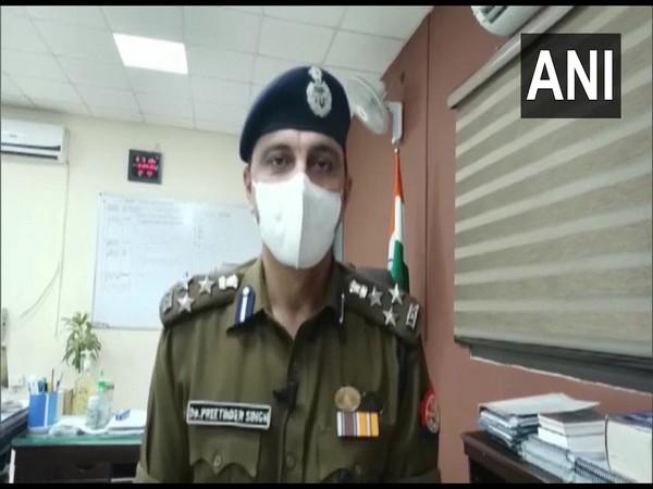 Kanpur's Senior Superintendent of Police Preetinder Singh. (Photo/ANI)