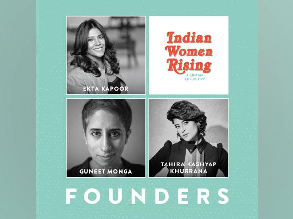 Ekta Kapoor, Tahira Kashyap Khurrana and Guneet Monga for 'Indian Women Rising' (Image Source: Twitter)