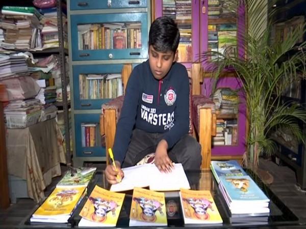 Ayush Kumar Khuntia who wrote 104 page 'Pilaka Ramayana'.
