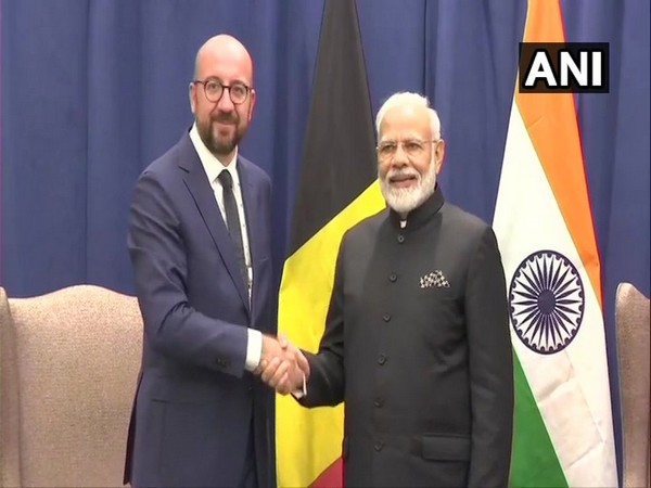 Prime Minister Narendra Modi and European Council President Charles Michel (File Photo)
