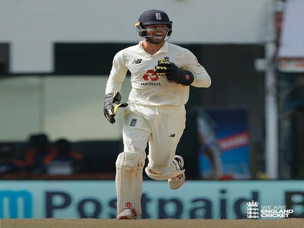 England wicketkeeper-batsman Ben Foakes (Photo/ England Cricket Twitter)