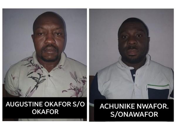 Central Crime Branch arrested 2 Nigerian nationals for drug peddling. (Photo/ANI)