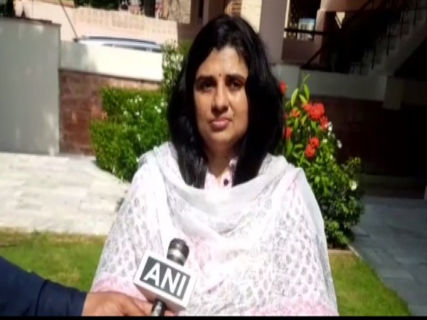 Chairperson of the Rajasthan Commission for Protection of Child Rights Sangeeta Beniwal (Photo: ANI)