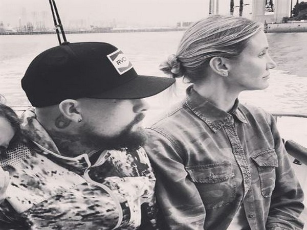 Musician Benji Madden with Cameron Diaz (Image Source: Instagram)