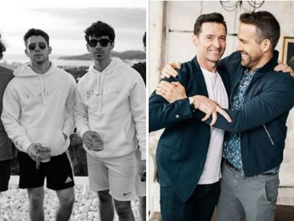 Hollywood celebrities on National Best Friends Day