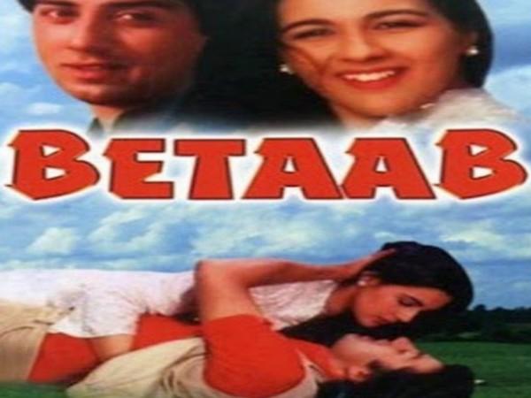 Poster of 'Betaab' (Image source: Instagram)