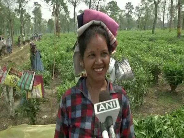 Mausmi, a tea garden worker