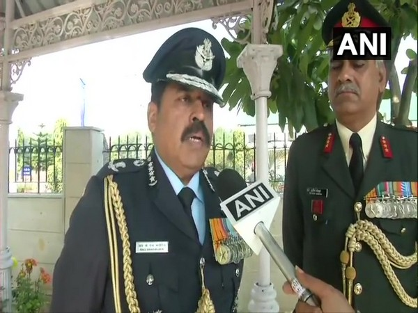 Air Chief Marshal RKS Bhadauria talking to ANI in New Delhi on Saturday