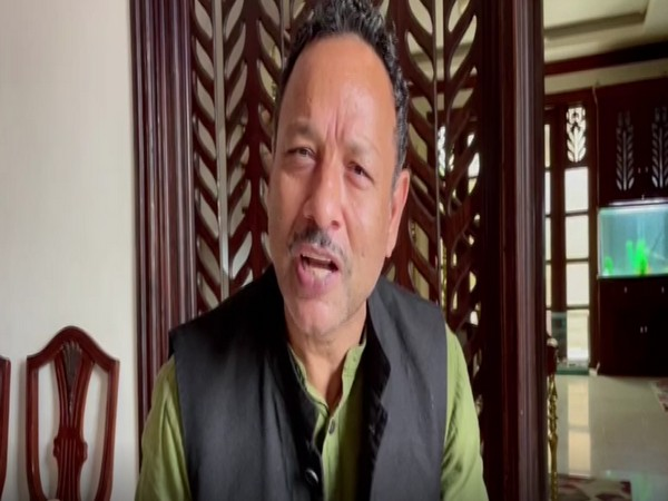 Samajwadi Party leader  Anurag Bhadouria. (Photo/ ANI)