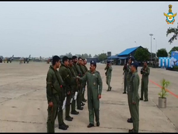 Visual from IAF airbase in Ambala.