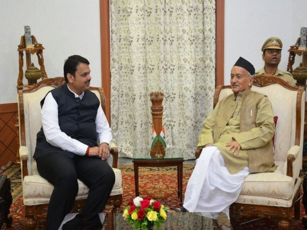 Governor Bhagat Singh Koshyari with Chief Minister Devendra Fadanvis. (File Photo)