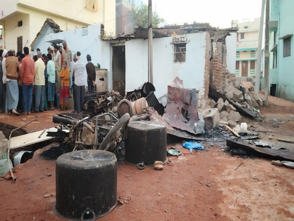 A visual from Bhainsa town in Telangana after clashes. (File Photo)