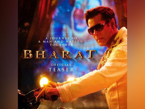 Salman Khan in 'Bharat' poster, Image courtesy: Instagram