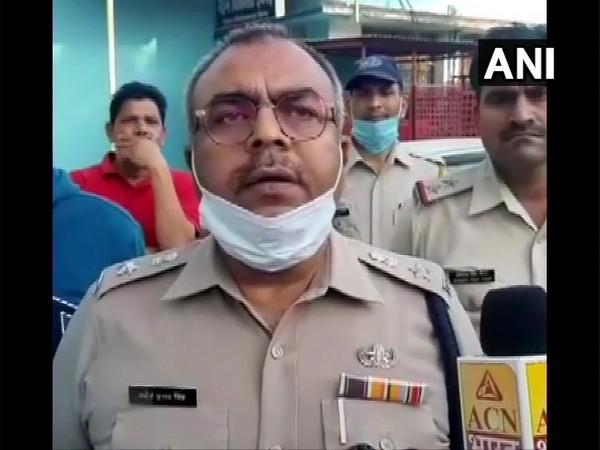 Superintendent of Police (SP) Manoj Kumar Singh speaking to ANI on Friday. (Photo/ANI)