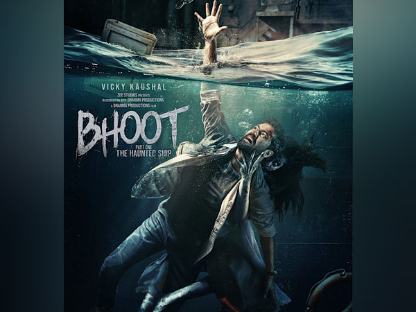 Poster of ?Bhoot Part One: The Haunted Ship?, Image courtesy: Instagram