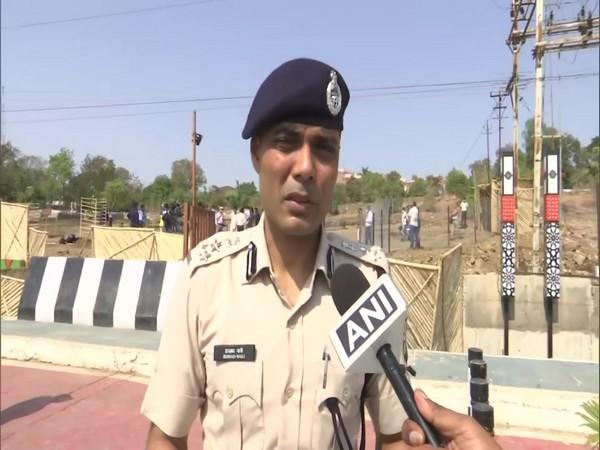 Deputy Inspector General (DIG) of Bhopal Irshad Wali (Photo/ANI)