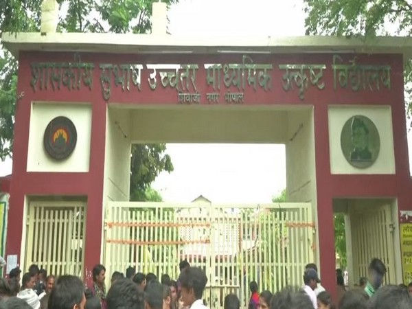Subhash Government Higher Secondary School, Bhopal (Photo/ANI)