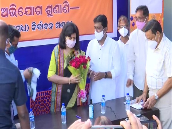 BJP MP Aparajita Sarangi's office in Bhubaneswar was sealed on Saturday allegedly for violating COVID-19 norms.