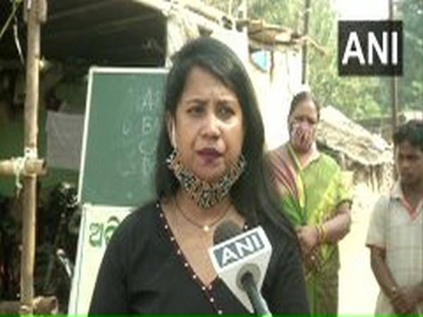 Manshi Sathpati speaking to ANI.