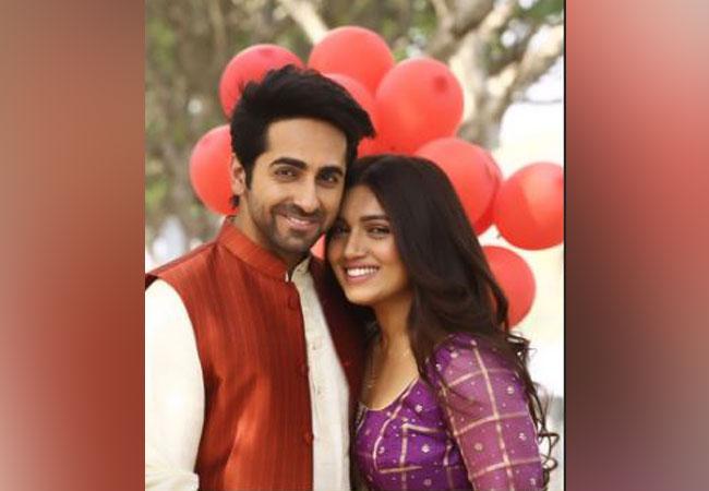 Ayushmann Khurrana and Bhumi Pednekar (Image courtesy: Instagram)