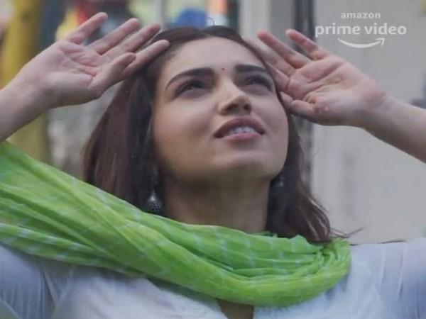 Bhumi Padnekar in a still from song Baras Baras (Image Source: Instagram)