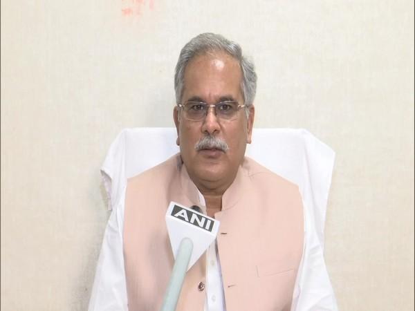 Chhattisgarh Chief Minister Bhupesh Baghel (File Photo/ANI)