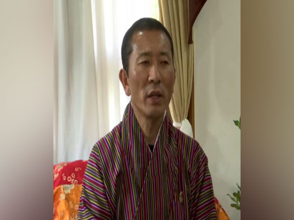 Bhutan Prime Minister Lotay Tshering at a press conference in Paro, Bhutan on Sunday