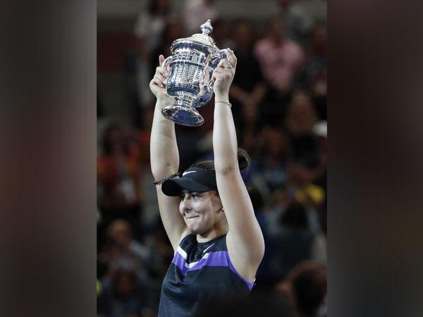 Canada's tennis player Bianca Andreescu
