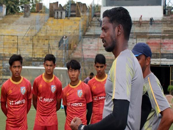 Indian head coach Bibiano Fernandes (Photo/Indian Football Team Twitter)