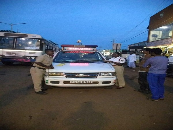 Bidar police on Monday conducted a drive against traffic violators on Monday