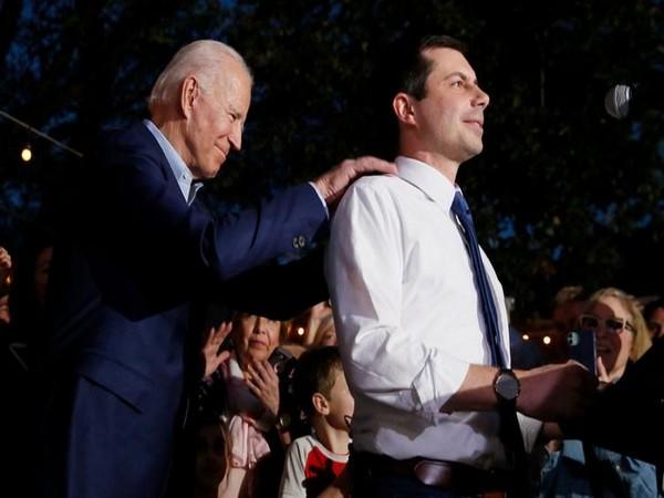 Former Democratic presidential candidate Pete Buttigieg endorsed Joe Biden's campaign in Dallas