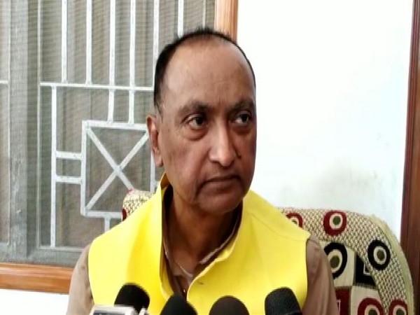 Former Janata Dal-United MLC Vinod Chaudhary. Photo/ANI