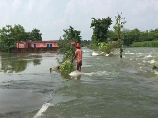 A visual from Minapur block of Muzaffarpur, Bihar. Photo/ANI