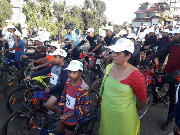A bike and cycle rally race in Kodagu (Photo/ANI)