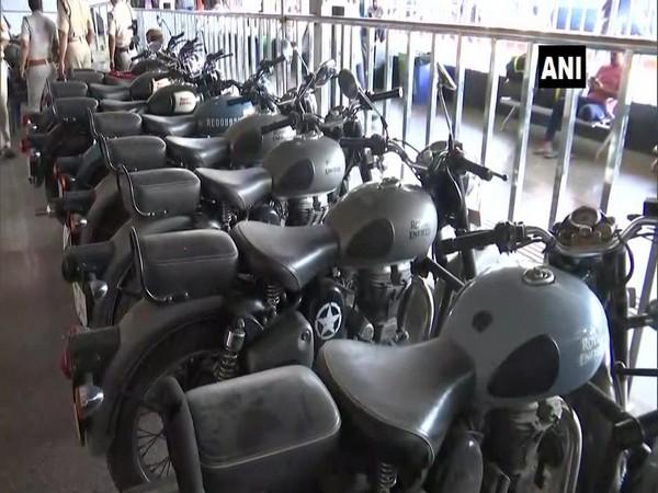 GRP seized 45 stolen bikes at Gauwahati Railway station
