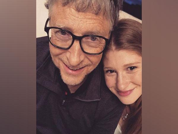 Bill Gates with daughter Jennifer  (Image Source: Instagram)
