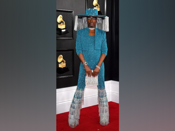 Billy Porter at the red carpet of 62nd Grammy Awards (Image Source: Instagram)