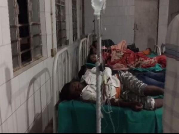 43 people were hospitalised in Bihar's Muzaffarpur on Friday. Photo/ANI