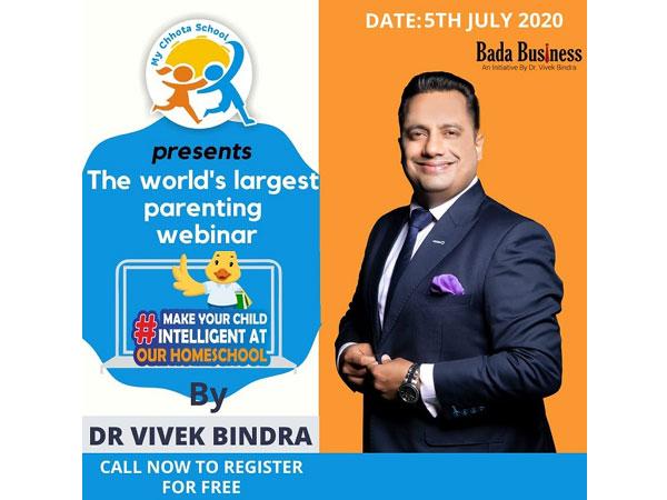 Homeschool Webinar by Dr Vivek Bindra
