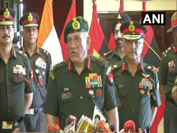 Indian Army Chief General Bipin Rawat (File photo)