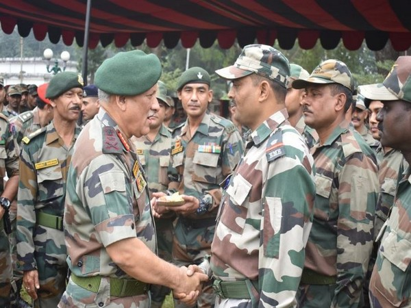 Army Chief General Bipin Rawat at the Eastern Command in Kolkata on Friday. Photo/Indian Army