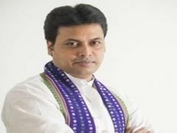 Tripura Chief Minister Biplab Deb (pic courtesy-Twitter)