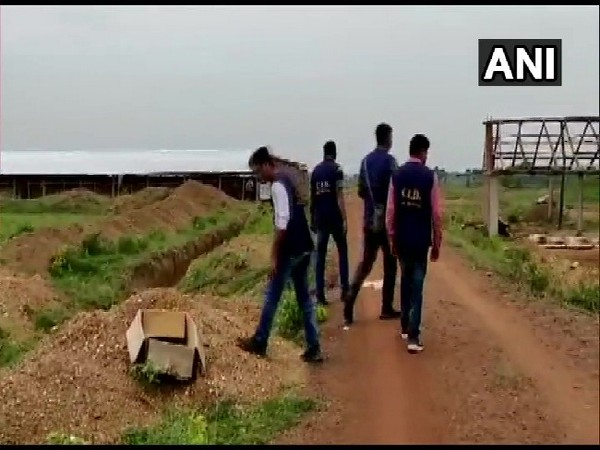 CID team conducting search in Birbhum, West Bengal on July 10. Photo/ANI