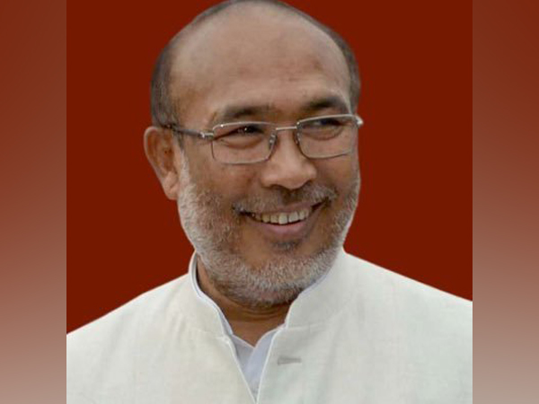Chief Minister of Manipur, N Biren Singh (Twitter Profile Image).