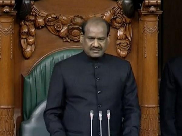 Lok Sabha speaker Om Birla. File photo/ANI